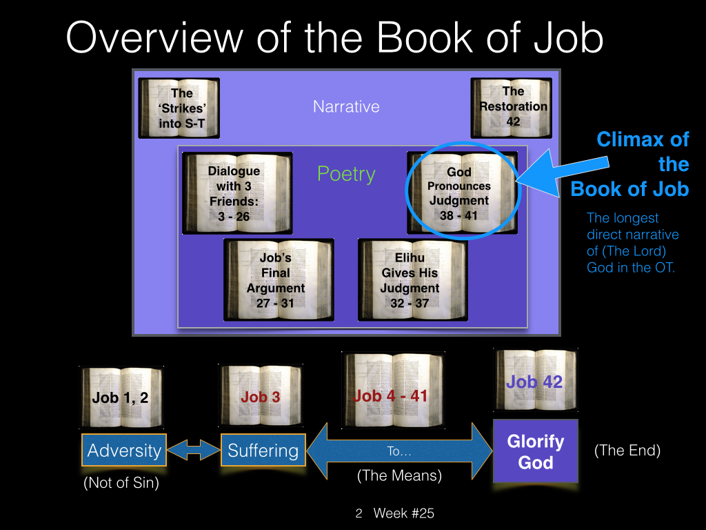 Book of Job, Raz, Week #25.002
