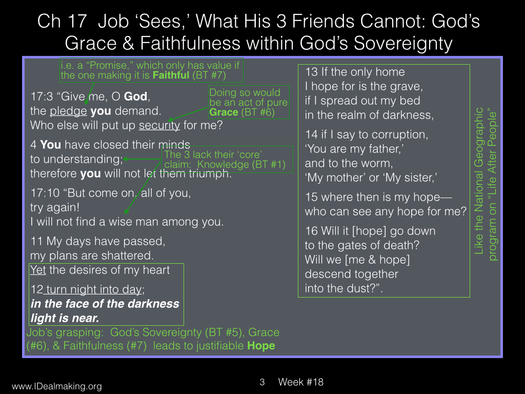 Book of Job, Week #18 LB.003
