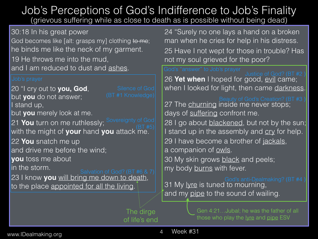 Book of Job, Week #31 LB.004